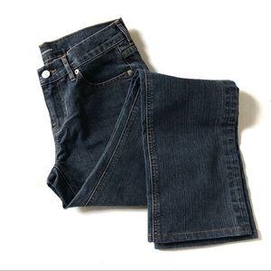 CLUB MONACO Medium Wash Straight Leg Jeans